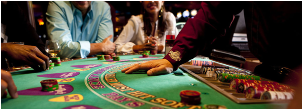 Highlimit blackjack table