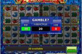 Gamble feature in Pokies