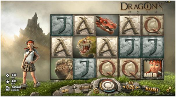 Dragons Myth pokies